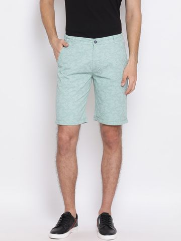 Crimsoune Club | Crimsoune Club Printed Green Men's Shorts
