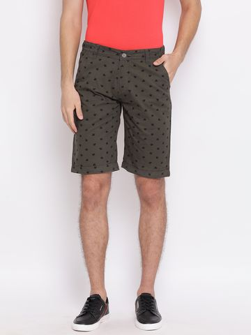 Crimsoune Club | Crimsoune Club Printed Grey Men's Shorts