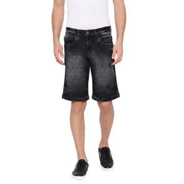 Crimsoune Club   Crimsoune Club Men's Black Solid Shorts