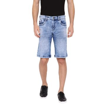 Crimsoune Club | Crimsoune Club Men's Blue Solid Shorts