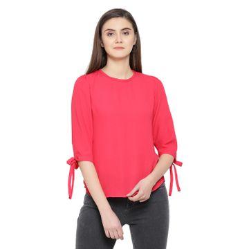 Crimsoune Club   Crimsoune Club Women's Solid Pink Top