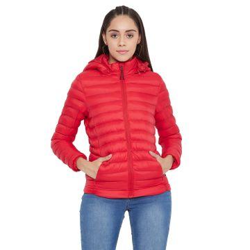 Crimsoune Club   Crimsoune Club Women's Red Solid Jacket