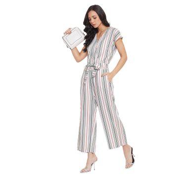 Crimsoune Club | Crimsoune Club Multi Striped Jump Suit