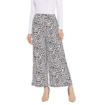 Crimsoune Club | Crimsoune Club Womens White Printed Parallel Trousers