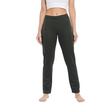 Crimsoune Club | Crimsoune Club Womens Olive Solid Track Pants