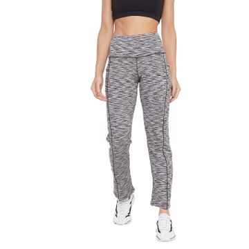 Crimsoune Club | Crimsoune Club Womens Grey Printed Track Pants