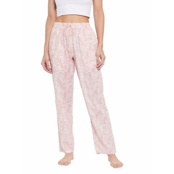 Crimsoune Club | Crimsoune Club Womens Pink Printed Lounge Pants