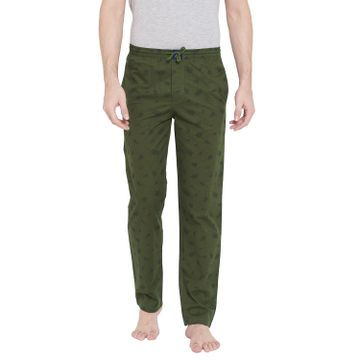 Crimsoune Club | Crimsoune Club Mens Printed Olive Lounge Pants