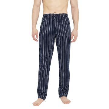 Crimsoune Club | Crimsoune Club Mens Striped Navy Blue Lounge Pant