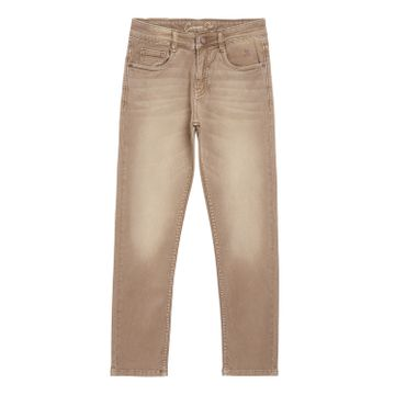 Crimsoune Club | Crimsoune Club Boy's Beige Solid Jeans