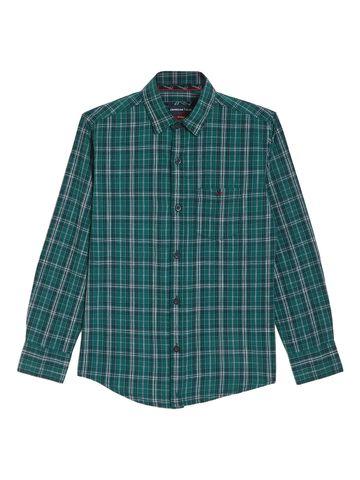 Crimsoune Club | Crimsoune Club Boy's Green Checked Shirt