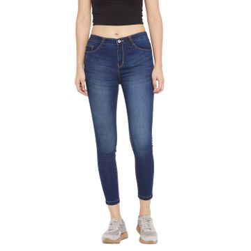 Crimsoune Club | Crimsoune Club Women's Navy Blue Solid Denim