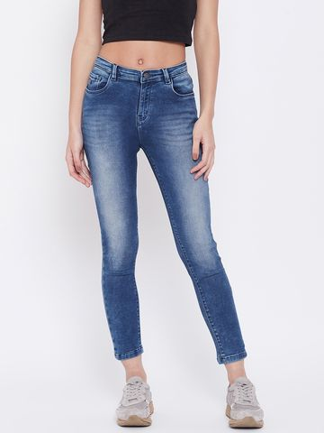 Crimsoune Club | Crimsoune Club Womens Blue Solid jeans