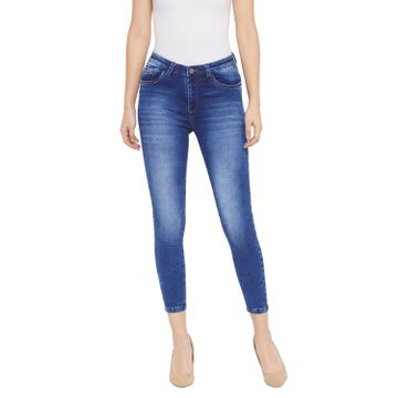 Crimsoune Club | Crimsoune Club Women's Blue Solid Denim