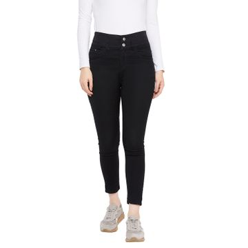 Crimsoune Club | Crimsoune Club Women's Black Solid Jeans