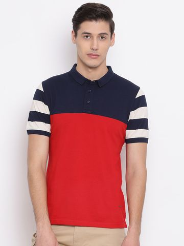 Crimsoune Club | Crimsoune Club Colourblock Red Men's T-Shirt