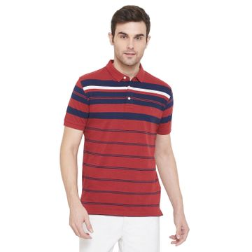 Crimsoune Club | Crimsoune Club Men's Red Striped T-shirt