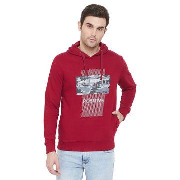 Crimsoune Club | Crimsoune Club Men's Red Graphic Sweat Shirt