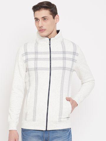 Crimsoune Club | Crimsoune Club Mens Printed White Sweat Shirt