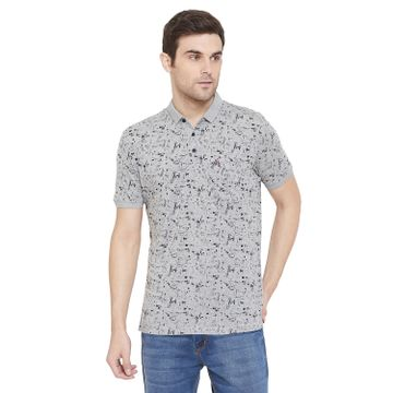 Crimsoune Club | Crimsoune Club Men's Grey Printed T-shirt