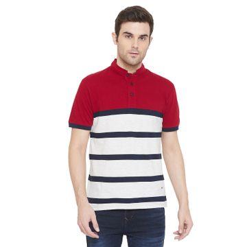 Crimsoune Club | Crimsoune Club Men's Red Striped T-shirt