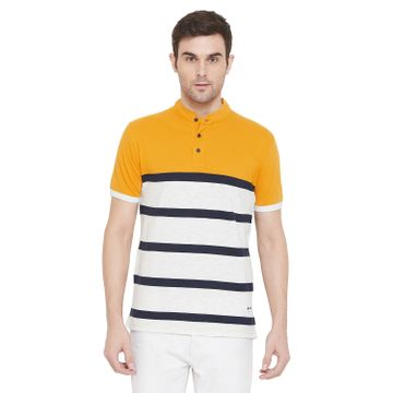 Crimsoune Club | Crimsoune Club Men's Yellow Striped T-shirt