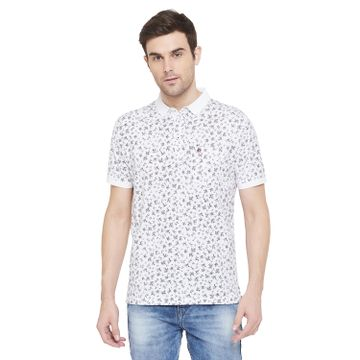 Crimsoune Club | Crimsoune Club Men's White Printed T-shirt