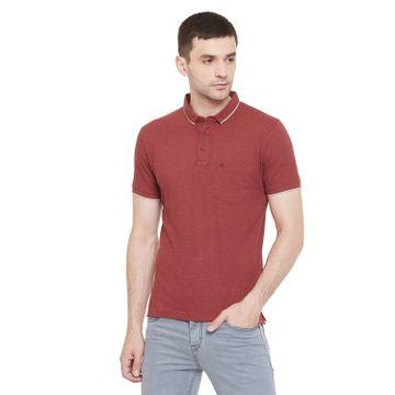 Crimsoune Club | Crimsoune Club Men's Red Solid Tshirt