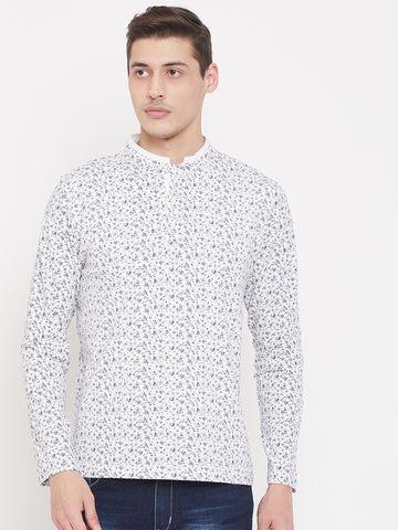 Crimsoune Club | Crimsoune Club Mens Printed White Tshirt