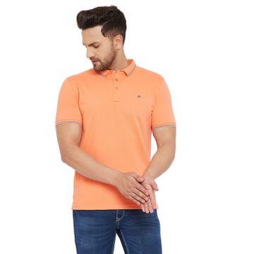 Crimsoune Club | Crimsoune Club Men's Solid Orange Tshirt