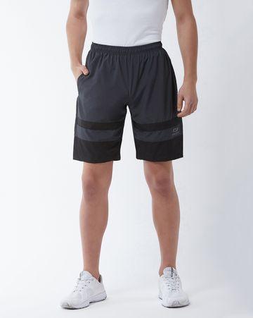 Masch Sports   Masch Sports Men's Gym Shorts Regular Fit Polyester (MSSH-0618-CS-321-DGB_S_Dark Grey_S)