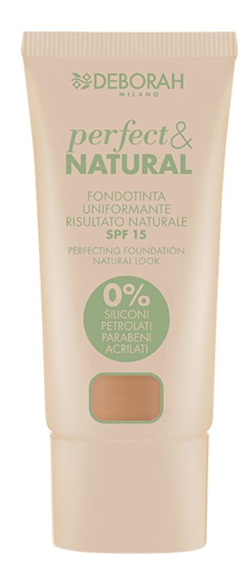 Deborah Milano | Perfect Natural Foundation - 6 Amber