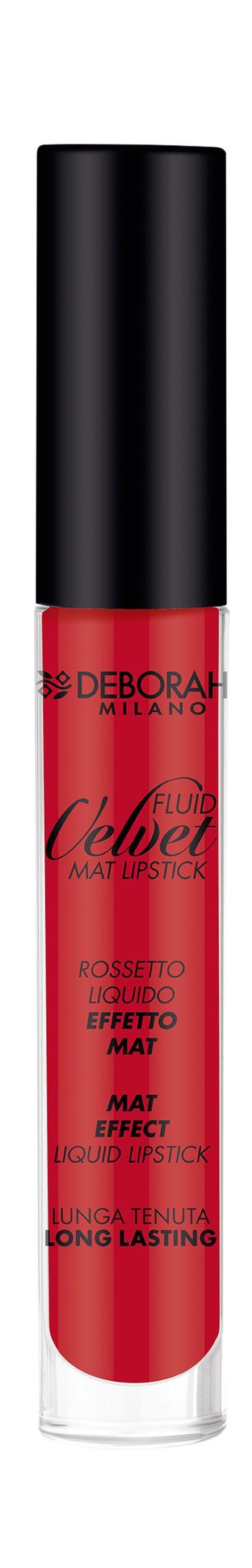 Deborah Milano | Fluid Velvet Mat - 6 Iconic Red