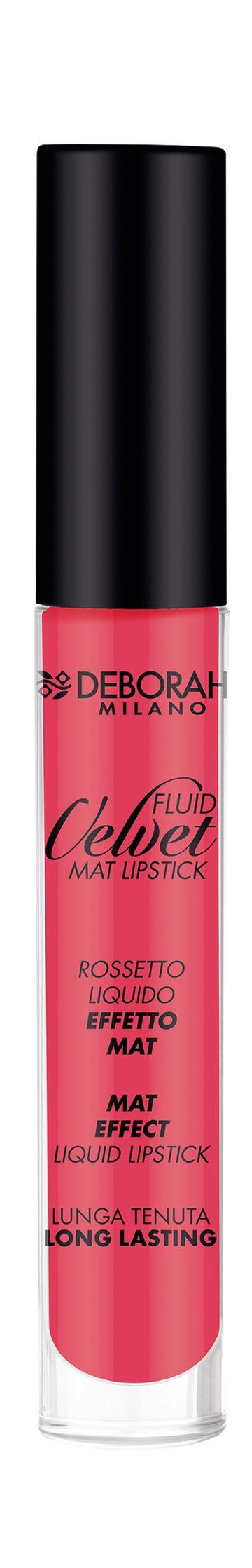 Deborah Milano | Fluid Velvet Mat - 10 Loud Coral