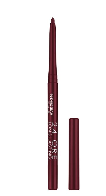 Deborah Milano | 24Ore Long Lasting Lip Liner - 1 Dark Red