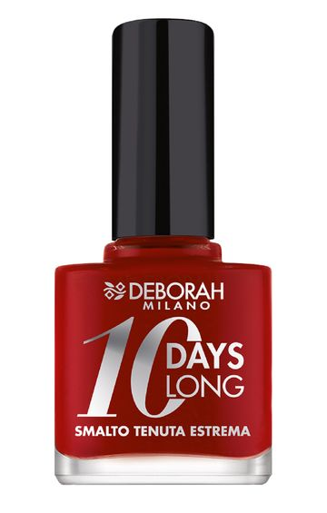 Deborah Milano | 10 Days Long - 860 Red Nail Polish