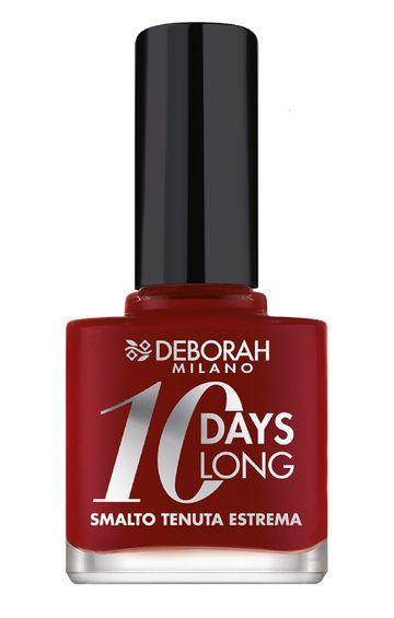 Deborah Milano | 10 Days Long - 161 Dark Red Nail Polish