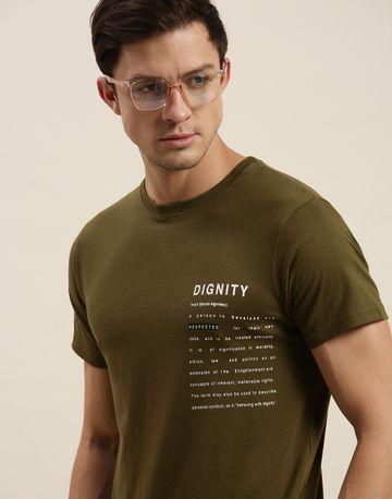 Difference of Opinion | Difference of Opinion Olive Graphic T-Shirt
