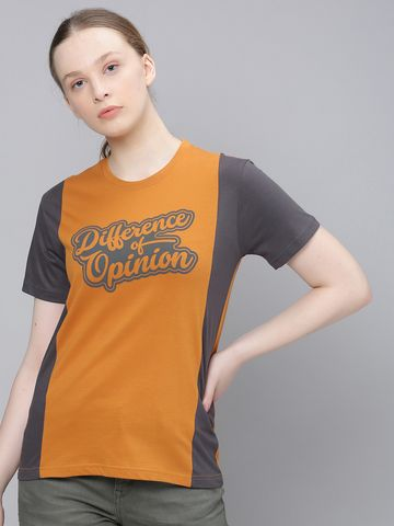 Difference of Opinion   Difference of Opinion of TypoPrinted Printed T-shirt