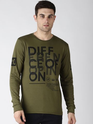Difference of Opinion   Difference of Opinion Printed T-Shirt