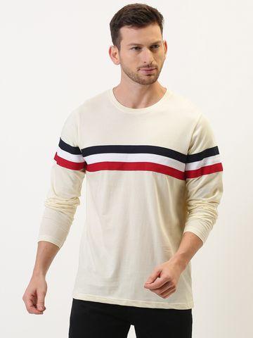 Difference of Opinion   Difference of Opinion Color-Block Full sleeve T-shirt