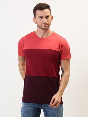 Dillinger   Dillinger Solid Color-Block T-shirt
