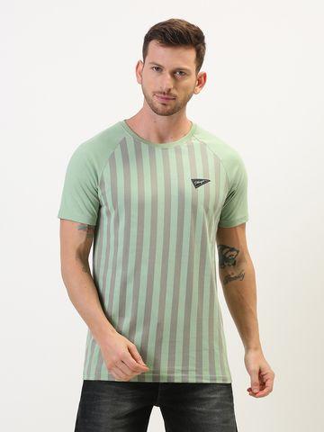 Dillinger   Dillinger Stripe Printed T-shirt