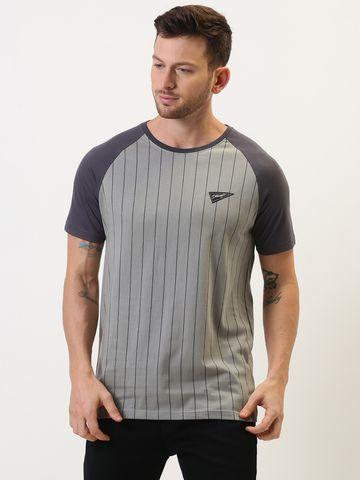 Dillinger | Dillinger Stripe Printed T-shirt