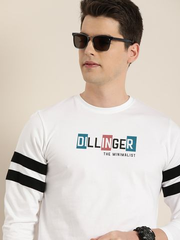 Dillinger   Dillinger Men's Full sleeve Printed T-shirt
