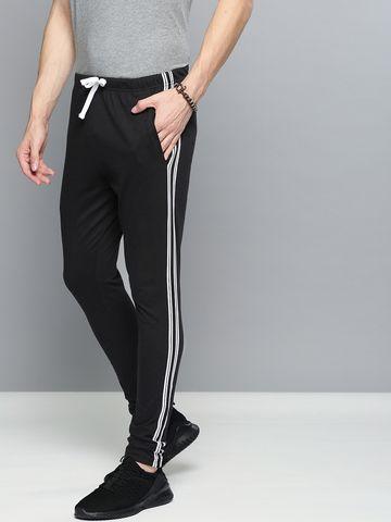 Dillinger   DILLINGER Men's Solid Regular Fit Trackpants