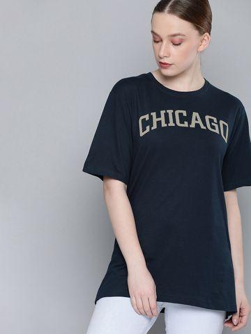 Dillinger | Dillinger Short sleeve round neck boxy T-shirt