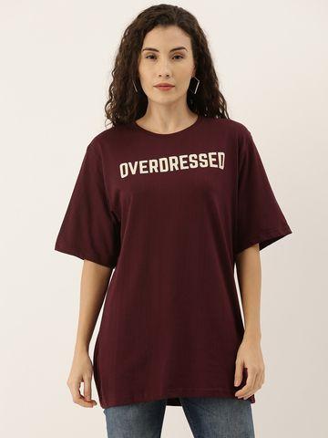 Dillinger | Dillinger Women's Printed Oversized T-shirt
