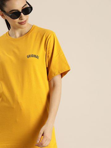 Dillinger   Dillinger Women Oversized Printed T-Shirt