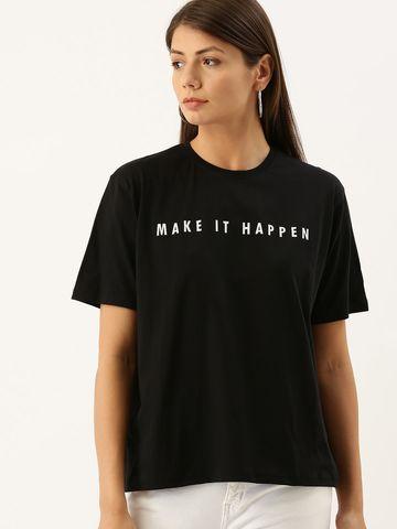 Dillinger | Dilllinger Women Printed Boxy Fit T-shirt